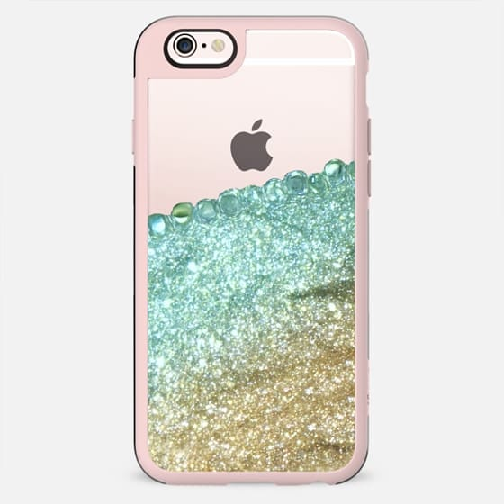 PRETTY COVERED MINT FAUX GOLD by Monika Strigel - New Standard Case