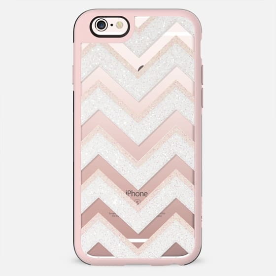CHI CHI CHEVRON by Monika Strigel iPhone 6 transparent