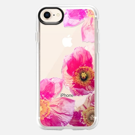 ALWAYS POPPIES PINK by Monika Strigel - Snap Case