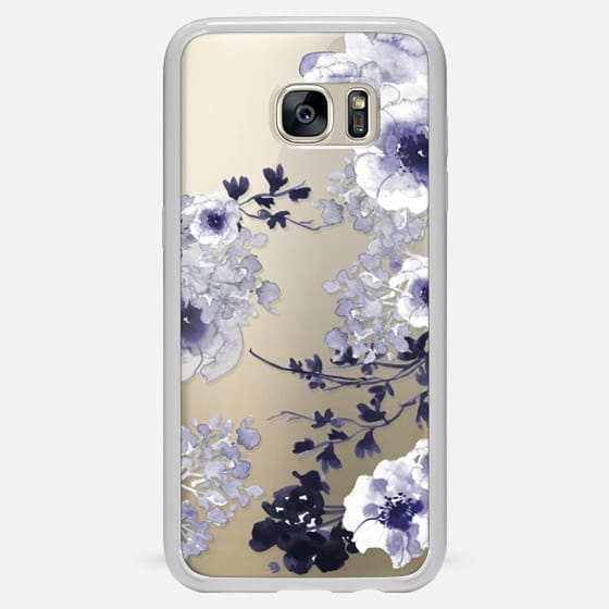 Galaxy S7 Edge Case - BLUE SPRING by Monika Strigel