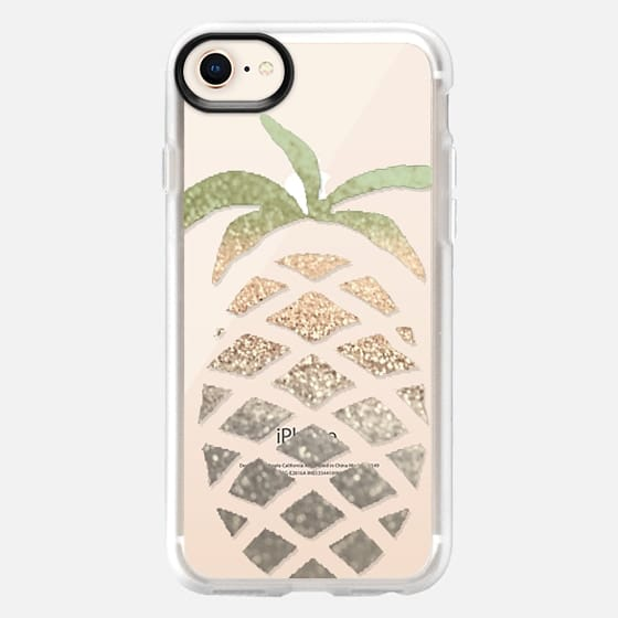GATSBY PINA COLADA Crystal Clear iPhone case - Snap Case