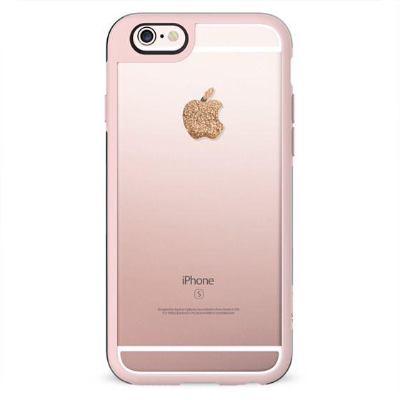 APPLE*ICIOUS GOLD FAUX GLITTER iPHone 6 by Monika Strigel