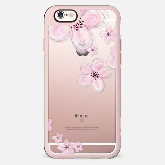 CHERRY BLOSSOM iPhone 6 Plus Crystal Clear Case - New Standard Case