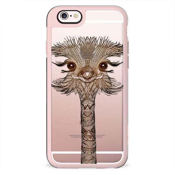 WOOD OSTRICH iphone case