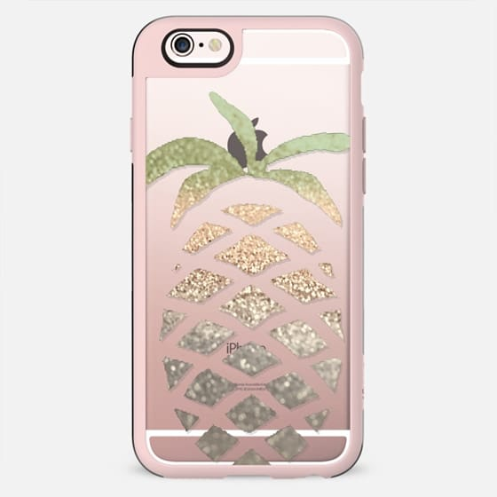 GATSBY PINA COLADA Crystal Clear iPhone case -