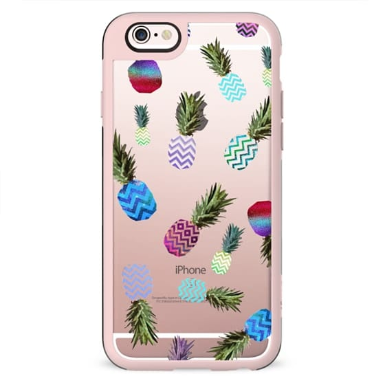 CRAZY PINEAPPLE for iPhone 6 Transparent Case