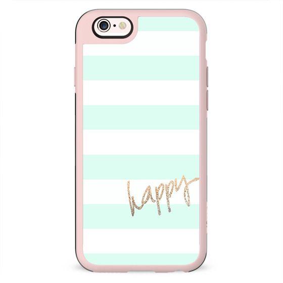 PRETTY HAPPY MINT by Monika Strigel iPhone 6