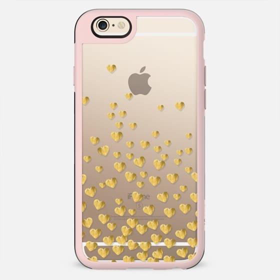 MINI HEARTS GOLD by Monika Strigel Valentines Collection - New Standard Case
