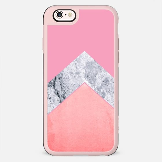 MARBLE & CORAL by Monika Strigel for Galaxy S6 - New Standard Case