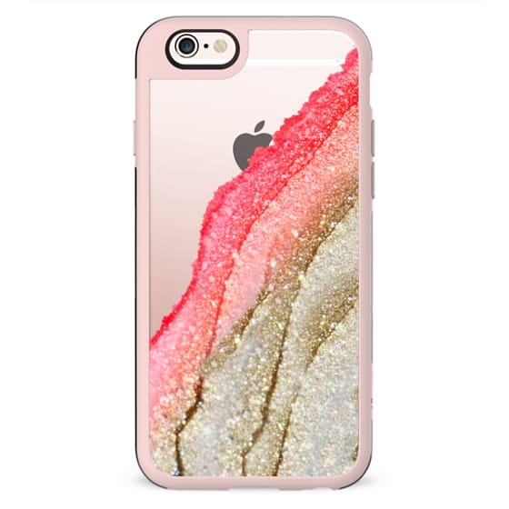 FLAWLESS CORAL by Monika Strigel iPhone 5s