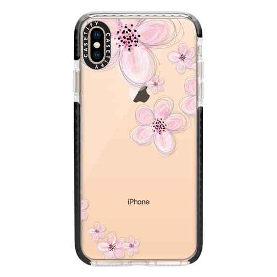 cheap for discount ab69e f073c Impact iPhone XS Max Case - CHERRY BLOSSOM iPhone 6 Plus Crystal Clear Case