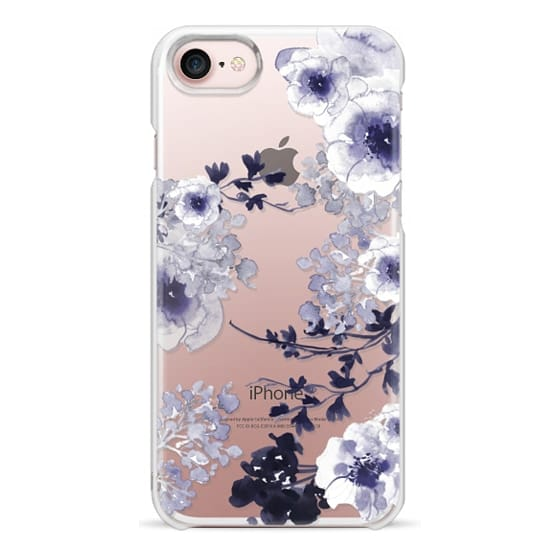 iPhone 7 Coque - BLUE SPRING by Monika Strigel