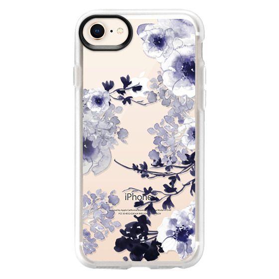 iPhone 8 Case - BLUE SPRING by Monika Strigel