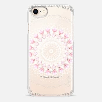 iPhone 8 Case BOHO LACE No. 4 by Monika Strigel