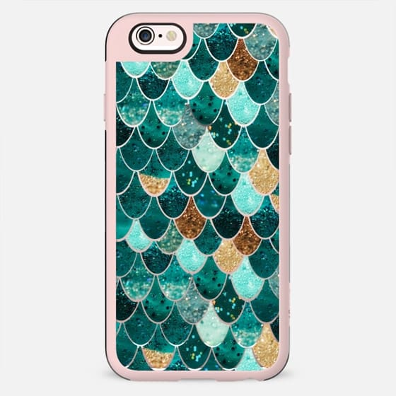 REALLY MERMAID transparent iPhone 6 case