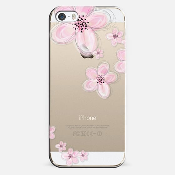 CHERRY CRYSTAL CLEAR iPhone case -