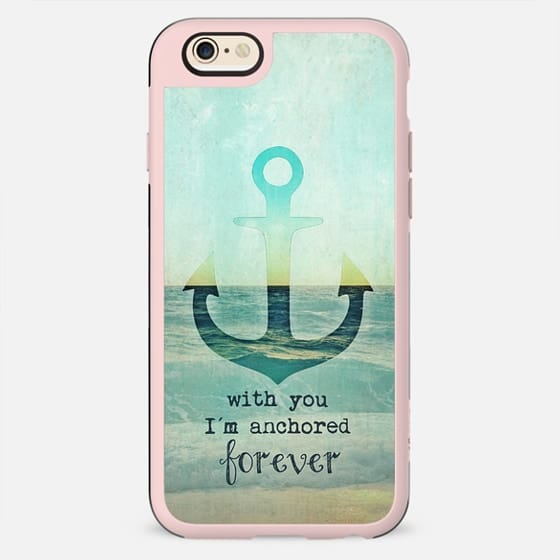 ANCHORED FOREVER by Monika Strigel Valentines Day - New Standard Case