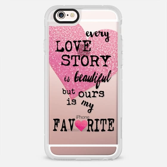 OUR STORY by Monika Strigel Valentines Collection - New Standard Case