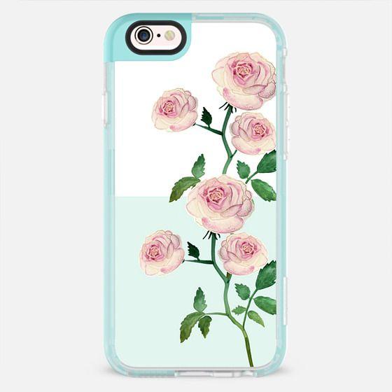 ROSE MORGANA MINT by Monika Strigel - New Standard Pastel Case
