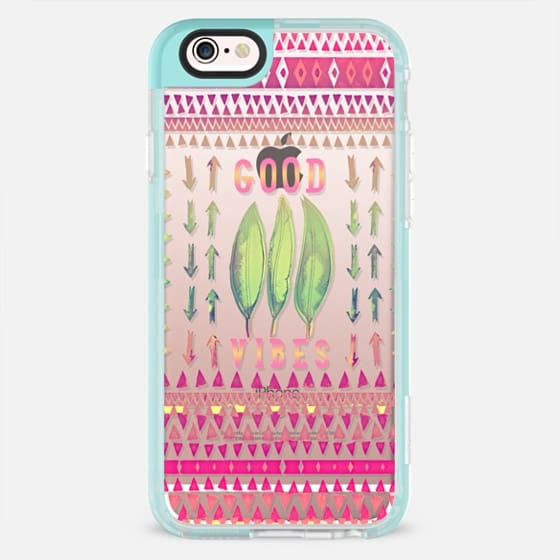 GOOD VIBES by Monika Strigel - New Standard Pastel Case