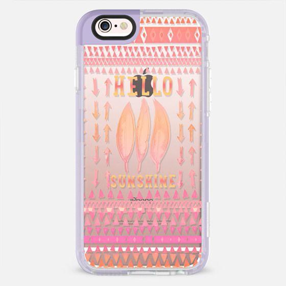 HELLO SUNSHINE by Monika Strigel - New Standard Pastel Case