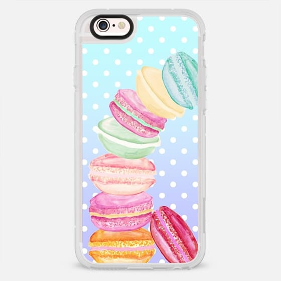 MACARONS AND DOTS MINT by Monika Strigel - New Standard Case