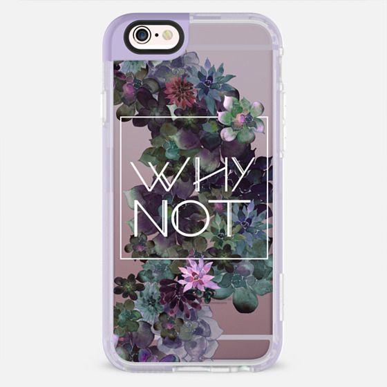 WHY NOT by Monika Strigel - New Standard Pastel Case