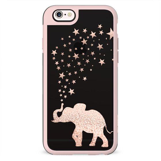 HAPPY ELEPHANT ROSE METALUX by Monika Strigel
