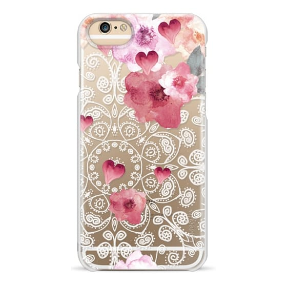 iPhone 6 Cases - HAPPY  SPRING VINTAGE & LACE by Monika Strigel