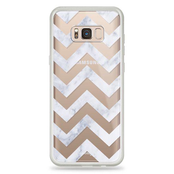 Samsung Galaxy S8 Plus Cases - CLASSIC MARBLE by Monika Strigel