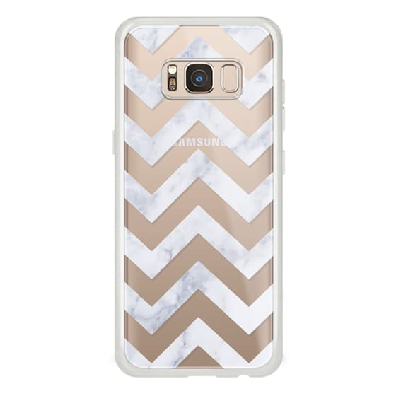 Samsung Galaxy S8 Cases - CLASSIC MARBLE by Monika Strigel
