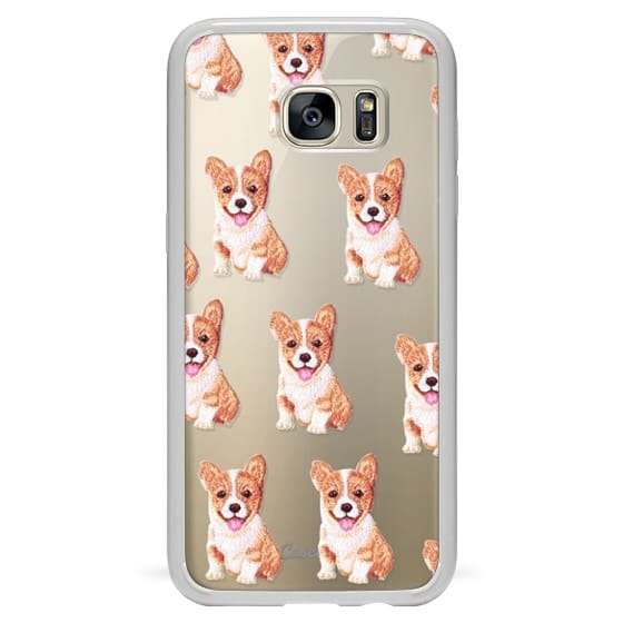 Samsung Galaxy S7 Edge Cases - PUPPY  PATCHES by Monika Strigel