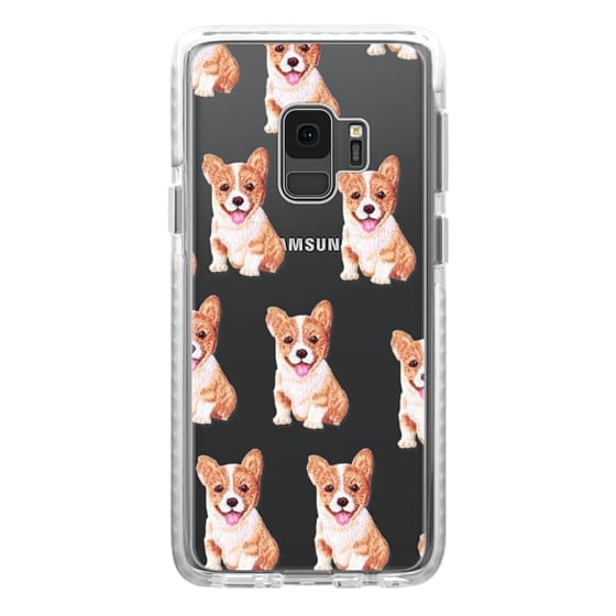 Samsung Galaxy S9 Cases - PUPPY  PATCHES by Monika Strigel