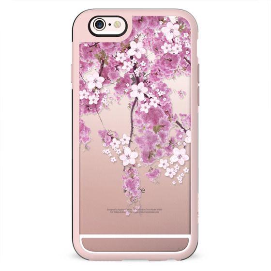 CHERRY SPRING iPhone 6 case TRANSPARENT