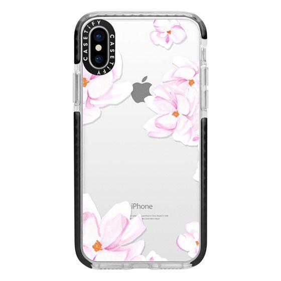 iPhone X Cases - MAGNOLIA GARDEN by Monika Strigel
