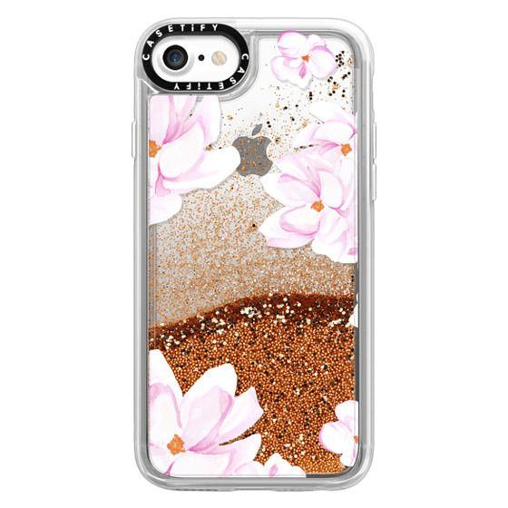 iPhone 7 Cases - MAGNOLIA GARDEN by Monika Strigel