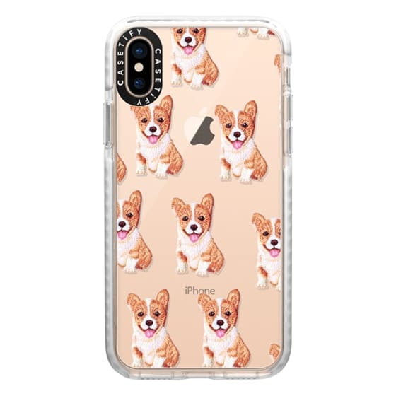 iPhone XS Cases - PUPPY  PATCHES by Monika Strigel