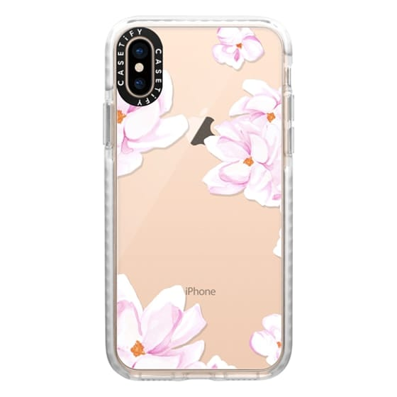 iPhone XS Cases - MAGNOLIA GARDEN by Monika Strigel