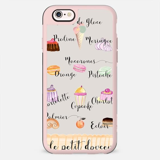 FRENCH PASTRIES Creme by Monika Strigel - New Standard Case