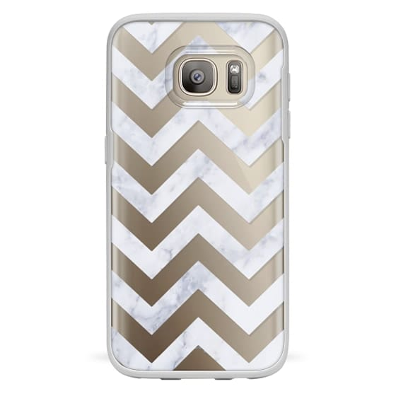 Samsung Galaxy S7 Cases - CLASSIC MARBLE by Monika Strigel