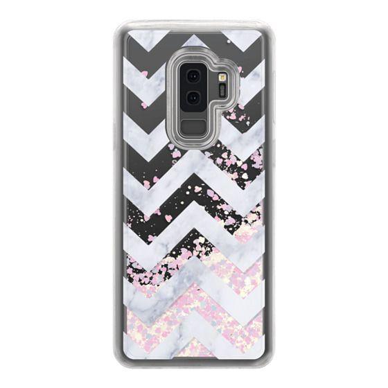 Samsung Galaxy S9 Plus Cases - CLASSIC MARBLE by Monika Strigel