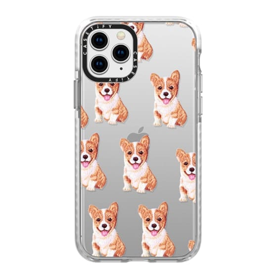 iPhone 11 Pro Cases - PUPPY  PATCHES by Monika Strigel