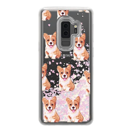 Samsung Galaxy S9 Plus Cases - PUPPY  PATCHES by Monika Strigel