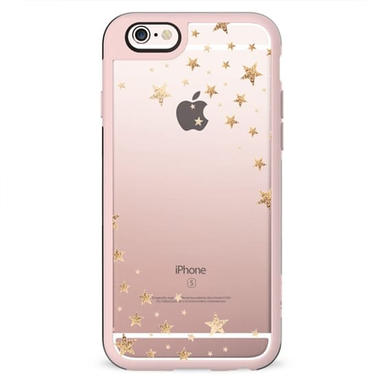 STARSHOWER GOLD Crystal Clear iphone case