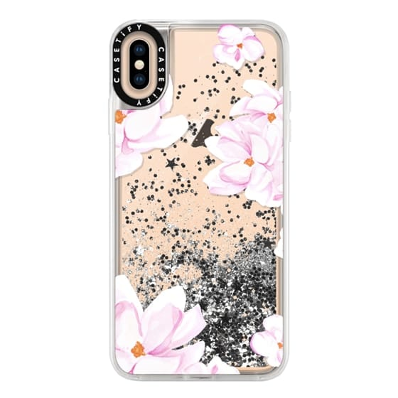 iPhone XS Max Cases - MAGNOLIA GARDEN by Monika Strigel