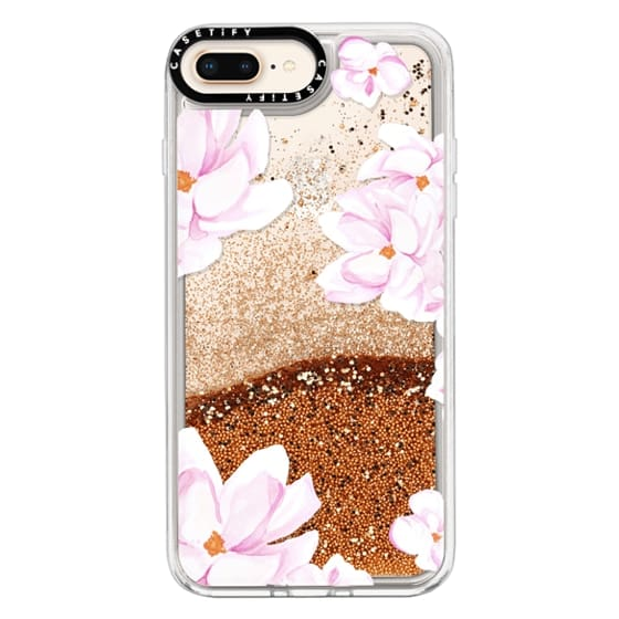 iPhone 8 Plus Cases - MAGNOLIA GARDEN by Monika Strigel