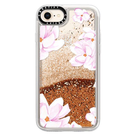 iPhone 8 Cases - MAGNOLIA GARDEN by Monika Strigel