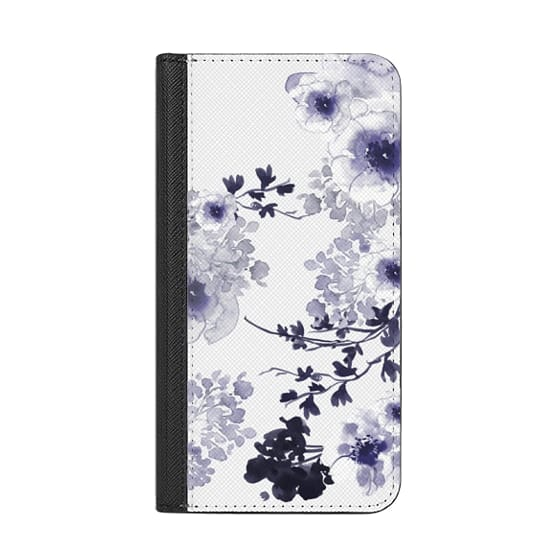 iPhone 8 Cases - BLUE SPRING by Monika Strigel