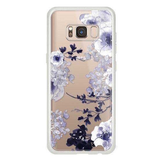Samsung Galaxy S8 Cases - BLUE SPRING by Monika Strigel