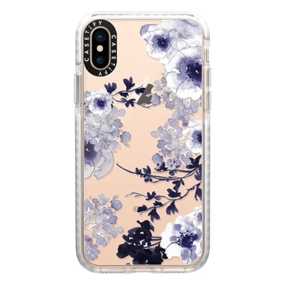 iPhone XS Cases - BLUE SPRING by Monika Strigel